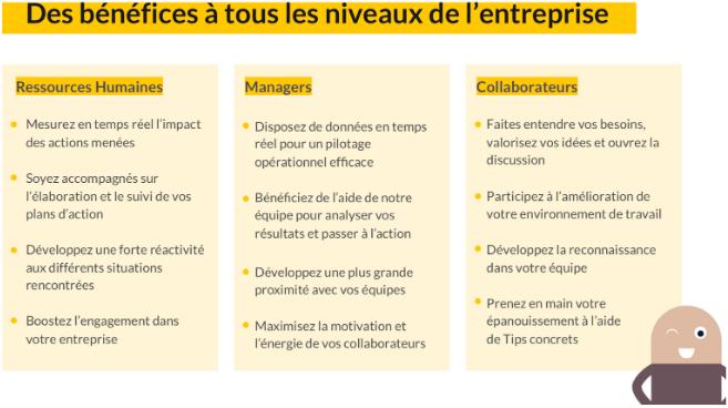 comment améliorer l'expérience collaborateur ? L'outil Bloom at Work permet d'agir à tous les niveaux de l'organisation