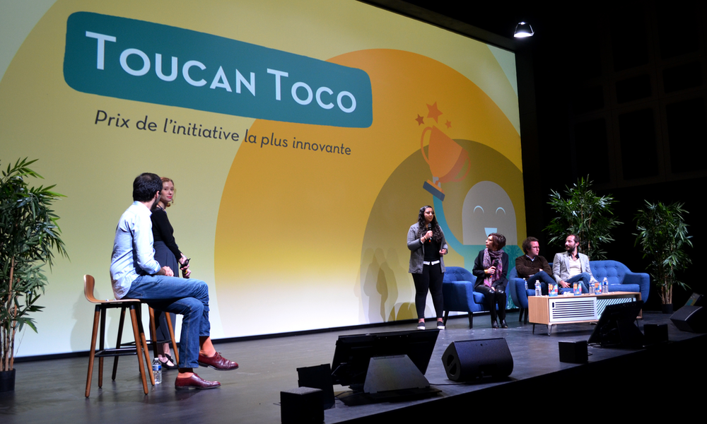 Toucan toco Awards Bloom at Work
